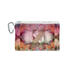 Nature and Human Forces Canvas Cosmetic Bag (S)