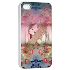 Nature And Human Forces Apple Iphone 4/4s Seamless Case (white)