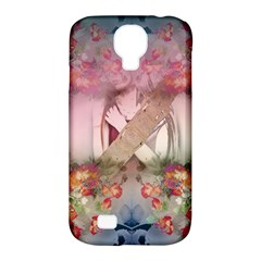 Nature And Human Forces Samsung Galaxy S4 Classic Hardshell Case (pc+silicone)