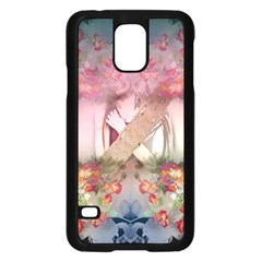 Nature and Human Forces Samsung Galaxy S5 Case (Black)