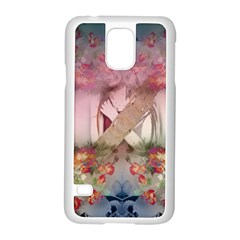 Nature and Human Forces Samsung Galaxy S5 Case (White)