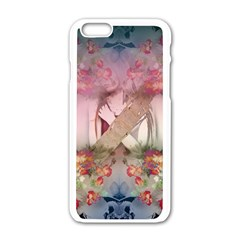 Nature And Human Forces Apple Iphone 6 White Enamel Case