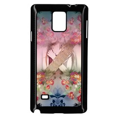 Nature and Human Forces Samsung Galaxy Note 4 Case (Black)