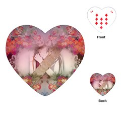Nature and Human Force Playing Cards (Heart)