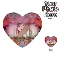 Nature And Human Force Multi Purpose Cards (heart)