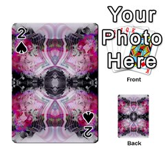 Natureforces Abstract Playing Cards 54 Designs