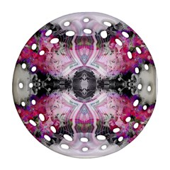 Natureforces Abstract Round Filigree Ornament (2side)