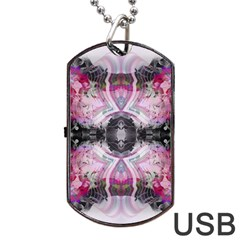 Natureforces Abstract Dog Tag Usb Flash (one Side)