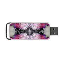 Natureforces Abstract Portable USB Flash (Two Sides)