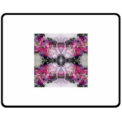 Natureforces Abstract Double Sided Fleece Blanket (medium)