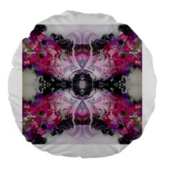 Natureforces Abstract Large 18  Premium Flano Round Cushions