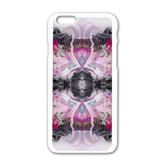 Natureforces Abstract Apple iPhone 6 White Enamel Case