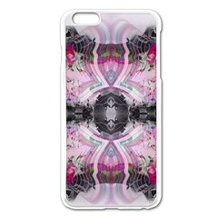 Natureforces Abstract Apple Iphone 6 Plus Enamel White Case