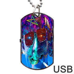 Voyage Of Discovery Dog Tag USB Flash (One Side)