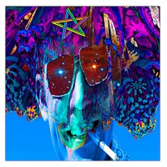 Voyage Of Discovery Large Satin Scarf (Square)
