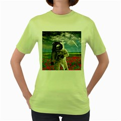 Exodus Women s Green T-Shirt