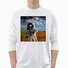Exodus White Long Sleeve T-Shirts