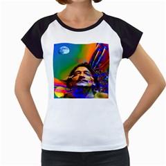 Dream Of Salvador Dali Women s Cap Sleeve T