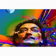 Dream Of Salvador Dali Collage 12  x 18