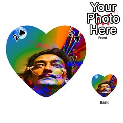 Dream Of Salvador Dali Playing Cards 54 (Heart)