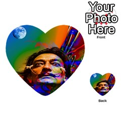 Dream Of Salvador Dali Multi Purpose Cards (heart)