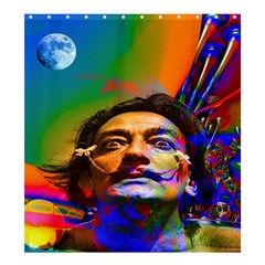 Dream Of Salvador Dali Shower Curtain 66  x 72  (Large)