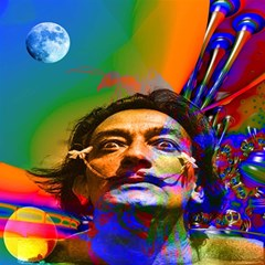 Dream Of Salvador Dali Magic Photo Cubes