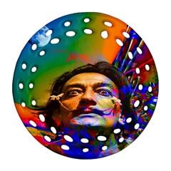 Dream Of Salvador Dali Ornament (Round Filigree)