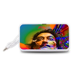 Dream Of Salvador Dali Portable Speaker (White)