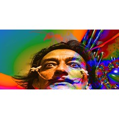 Dream Of Salvador Dali YOU ARE INVITED 3D Greeting Card (8x4)