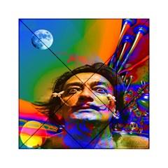 Dream Of Salvador Dali Acrylic Tangram Puzzle (6  x 6 )