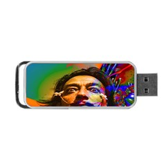 Dream Of Salvador Dali Portable USB Flash (Two Sides)