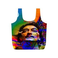 Dream Of Salvador Dali Full Print Recycle Bags (S)