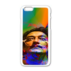 Dream Of Salvador Dali Apple iPhone 6 White Enamel Case