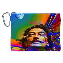 Dream Of Salvador Dali Canvas Cosmetic Bag (XXL)