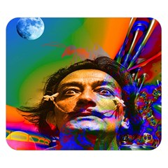 Dream Of Salvador Dali Double Sided Flano Blanket (small)