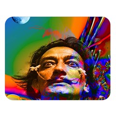Dream Of Salvador Dali Double Sided Flano Blanket (Large)