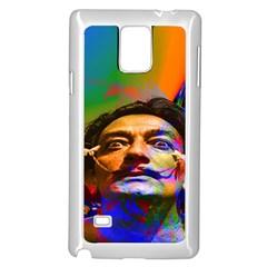 Dream Of Salvador Dali Samsung Galaxy Note 4 Case (White)