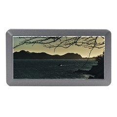 Landscape Aerial View Of Taganga In Colombia Memory Card Reader (mini)
