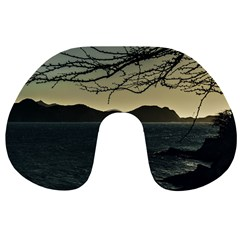 Landscape Aerial View Of Taganga In Colombia Travel Neck Pillows