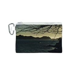 Landscape Aerial View Of Taganga In Colombia Canvas Cosmetic Bag (S)