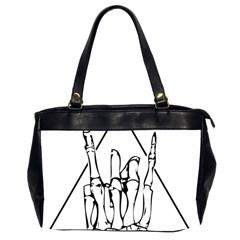 Skull Rock Office Handbags (2 Sides)