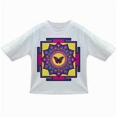 Butterfly Mandala Infant/Toddler T-Shirts