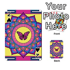 Butterfly Mandala Playing Cards 54 Designs