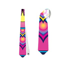 Butterfly Mandala Neckties (One Side)