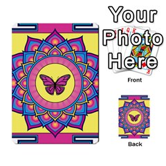 Butterfly Mandala Multi-purpose Cards (Rectangle)