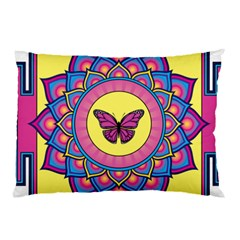 Butterfly Mandala Pillow Cases
