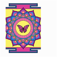 Butterfly Mandala Large Garden Flag (Two Sides)