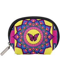 Butterfly Mandala Accessory Pouches (small)