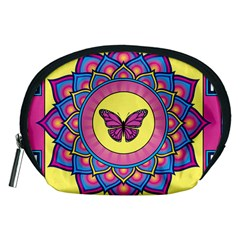 Butterfly Mandala Accessory Pouches (medium)